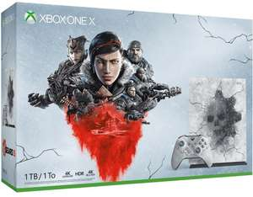 Xbox one x gears of war LE with metro exodus £304.99 Argos