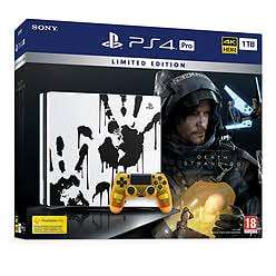 Limited Edition Death Stranding PS4 Pro Bundle - GAME Exclusive £329.99