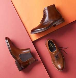 50% off men's boots + free delivery with code at Debenhams