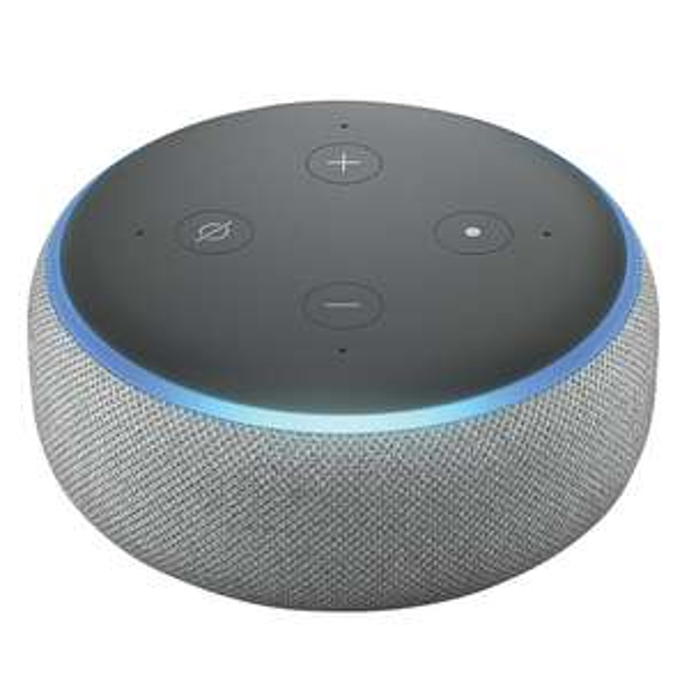 Amazon Echo Dot (3rd Gen) - Sandstone/Charcoal/Grey Fabric - £21.99 @ Screwfix