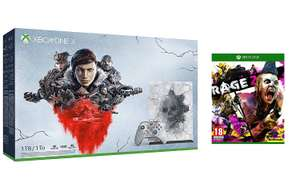Xbox One X Gears 5 Limited Edition bundle (1TB) + Rage 2 £309.99 Amazon