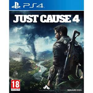 Just Cause 4 (PS4/Xbox one) £10.99 delivered @ Smyths Toys