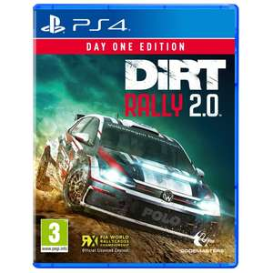 DiRT Rally 2.0 Day One Edition (PS4 / Xbox One) for £11.99 @ Smyths
