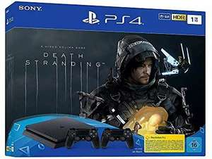 PlayStation 4 Slim incl. 2 controllers and Death Stranding - console (1TB, black, slim) £230.50 Amazon Germany