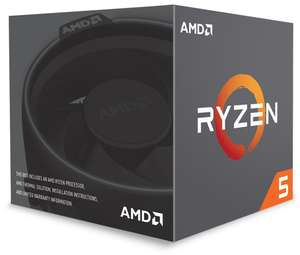 AMD Ryzen 5 1600 6 Core AM4 CPU/Processor with Wraith Spire 95W cooler, £86.70 at CCL