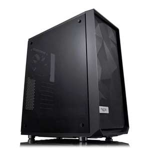 Fractal Meshify C Dark Tinted Tempered Glass Mid Tower PC Gaming Case £65.47 Scan