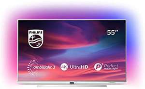 """Philips 55PUS7334 55"""" Smart Ambilight 4K Ultra HD Android TV with HDR10+, Dolby Vision, Dolby Atmos and P5 Processor"""