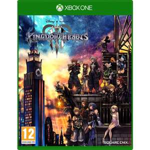 Kingdom Hearts III Xbox One for £10.99 Only Free C&C @ Smythstoys
