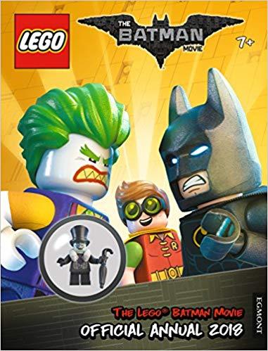 THE LEGO® BATMAN MOVIE: Official Annual 2018 (Egmont Annuals 2018) at Amazon £1.82 Prime (£1.99 non Prime)