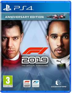 F1 2019 - Anniversary Edition (PS4) at Amazon for £24.99