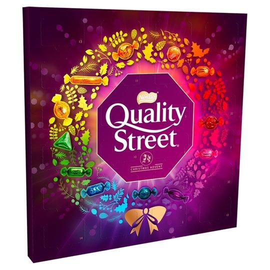 Quality Street Advent Calendar £2.50 @ Tesco