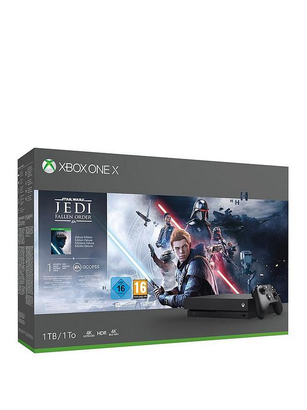 Xbox One X Star Wars Jedi Fallen Order Bundle (1TB) £299.99 @ Very with Free C&C
