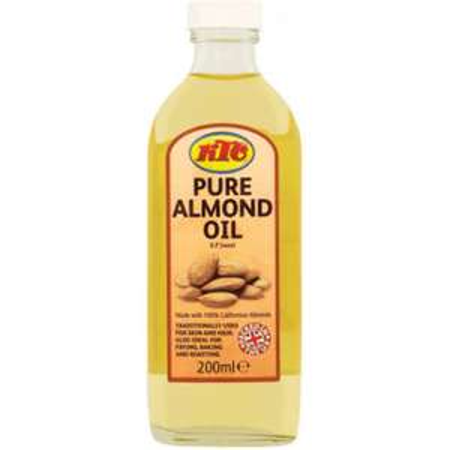 KTC Pure Almond Oil 200ml - £1.75 at Asda
