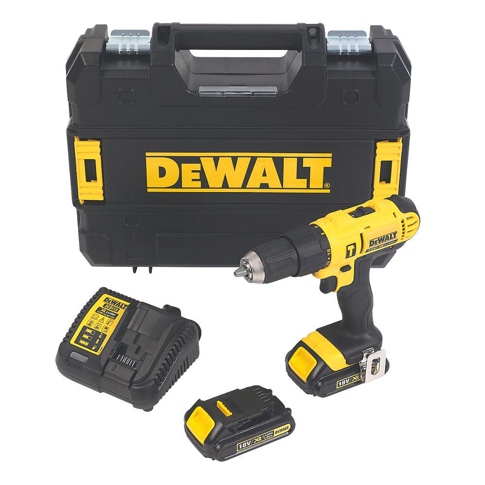 DeWalt DCD776S2T-GB 18V 1.5Ah Li-Ion XR Cordless Combi Drill £79.99 Screwfix
