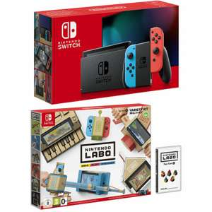 Nintendo Switch Improved Battery with Nintendo Labo Variety Kit at Game for £279.99