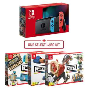 Nintendo Switch with free Labs game - £279.99 @ Smyths