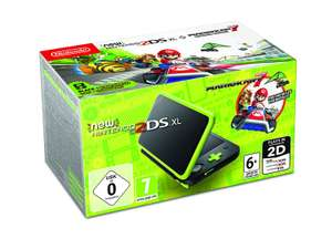 Nintendo 2DS XL - Black and Lime Green - Pre-installed with Mario Kart 7 (Nintendo 3DS) £109.99 Amazon