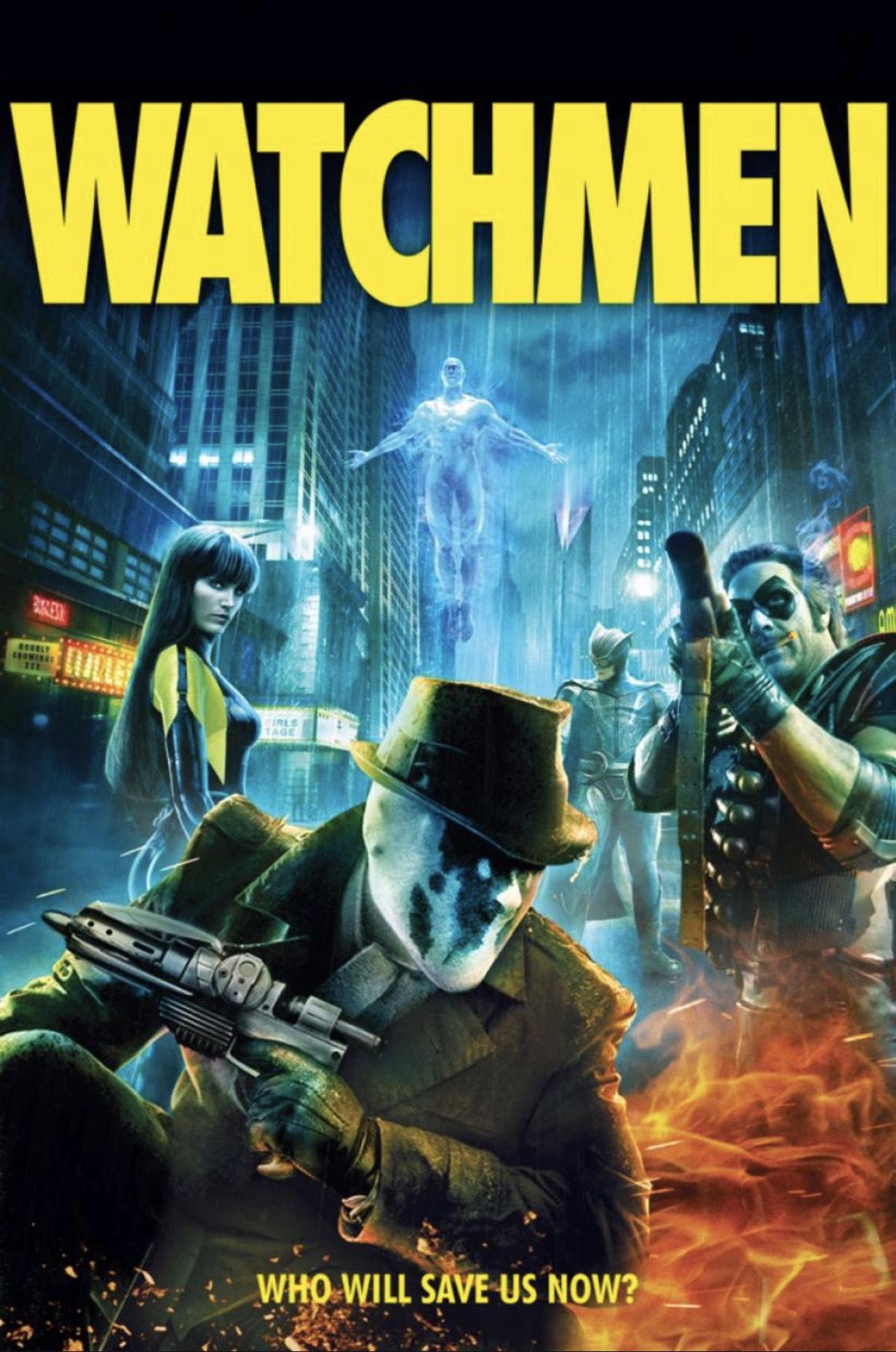 Watchmen The Ultimate Cut 4KDV £4.99 @ iTunes