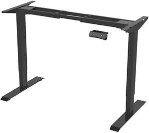 Standing Desk - Height Adjustable Electric Standing Desk + UK input Voltage 230V (Black) £209.99 Sold by Ergonomic and Fulfilled by Amazon.