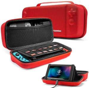 Nintendo Switch, Protective Hard Travel Case £11.44 - Sold by tomtoc EU Official and Fulfilled by Amazon. (+£4..49 Non-prime)