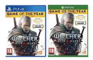The Witcher 3 Game of the Year Edition (PS4/ XBox One) £12.49 (+£2.99 NP) Delivered @ Amazon