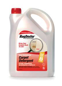 Rug Doctor Carpet Detergent, 4 Litre £13.99 (Prime) / £18.48 (non Prime) at Amazon