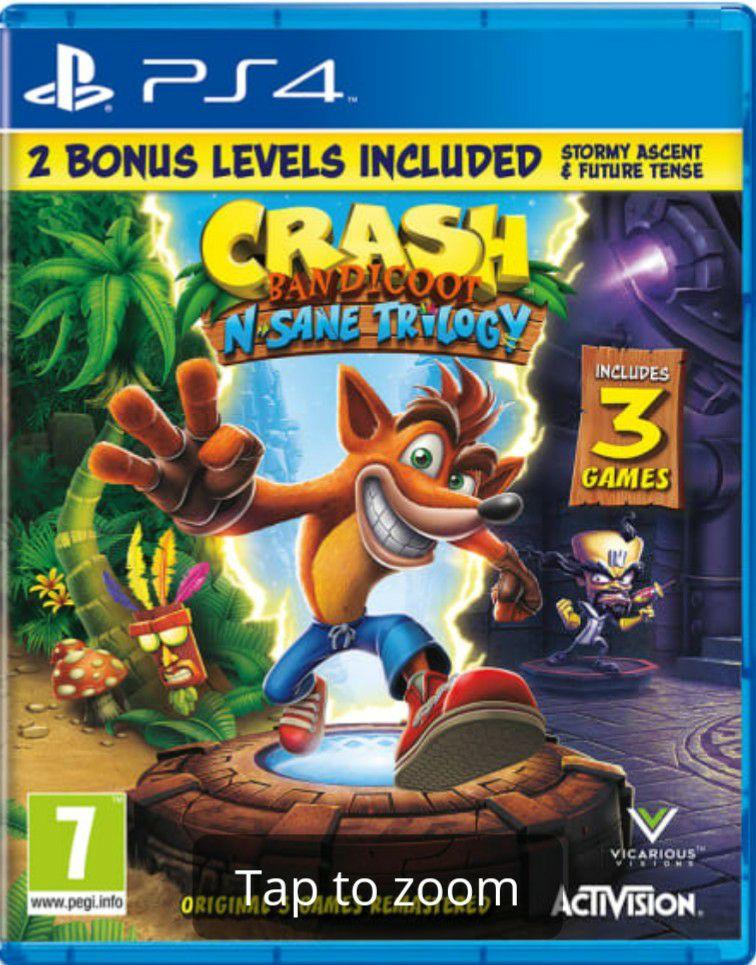 Crash Bandicoot N. Sane Trilogy(PlayStation 4) - £19.99 @ GAME