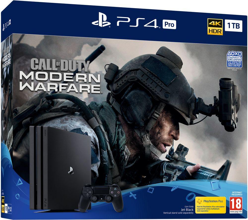 PS4 Pro 1TB with Modern Warfare - £299 @ Currys
