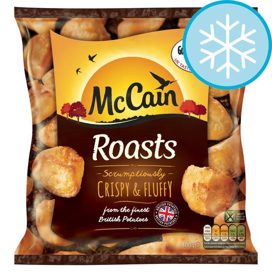 Mccain Roasts 800g for £1.07 @ Tesco