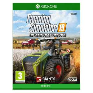 Farming Simulator 19 Platinum Edition £27.99 Smyths Toys Free Click & Collect