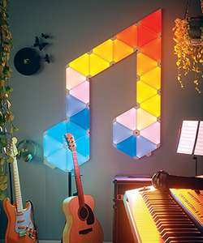 Nanoleaf Rhythm Music Syncing Smarter Kit - 9x Panels - £160.20 @ Amazon