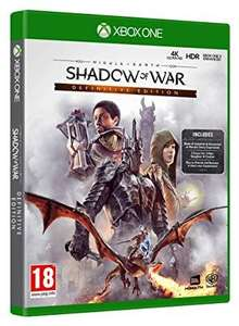 Middle Earth: Shadow of War Definitive Edition (xbox one) £18.99 (Prime) / £21.98 (non Prime) at Amazon