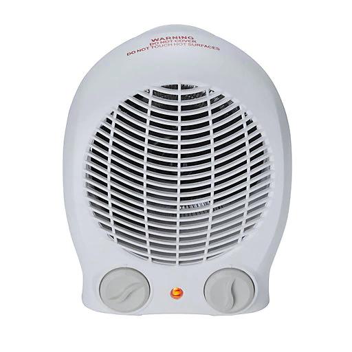 2000W White Freestanding Fan heater £8 @ B&Q