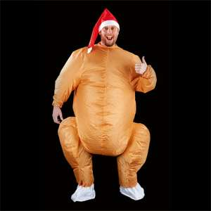 Adult Inflatable Turkey Suit £28.50 @ Homebase