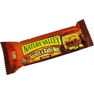 Nature Valley Sweet & Salty Peanut Bars 30g 19p Home Bargains