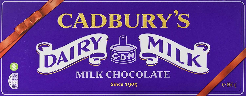 Cadbury Dairy Milk Heritage Chocolate Bar, 850 g £5 @Amazon.co.uk