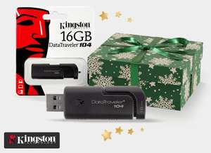 Get a FREE Kingston 16GB USB Drive With Orders From Top 25 Items @ MyMemory