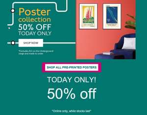 FIRST EDITION POSTERS Love art? Love transport? - TODAY ONLY! 50% off at London Transport Museum