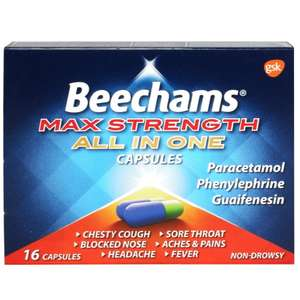 Beechams Max Strength All in One Capsules 16 instore at Asda (Middlesborough)