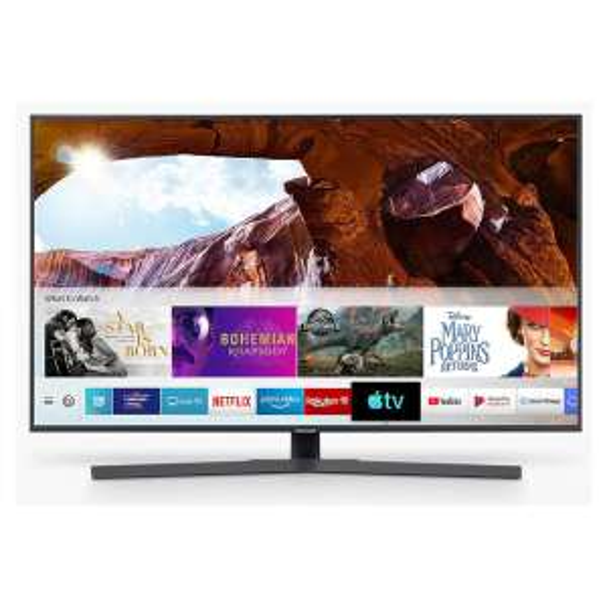 "Samsung UE65RU7400 (2019) HDR 4K Ultra HD Smart TV, 65"" with TVPlus/Freesat HD & Apple TV App, Titan Gray £629 BT Shop"