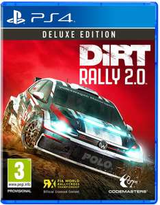 DiRT Rally 2.0 Deluxe Edition (PS4) includes content of standard edition plus Seasons 1 & 2 - £29.99 @ Amazon