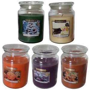 Wickford & Co Large Jar Candles £2.99 @ Home Bargains ( Lakeside store)