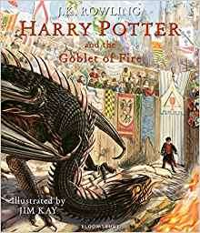 Harry Potter and the Goblet of Fire: Illustrated Edition (Harry Potter Illustrated Edtn) Hardcover back to half price £16 at Amazon