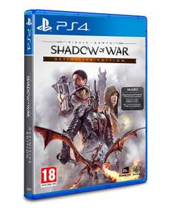 Shadow of War Definitive Edition PS4 £18.99 Prime / £21.98 Non Prime at Amazon