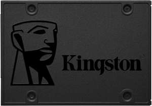 Kingston SSD A400 Solid State Drive (2.5 Inch SATA 3), 960 GB for £73.97/480GB for £38.98 Delivered @ Amazon UK