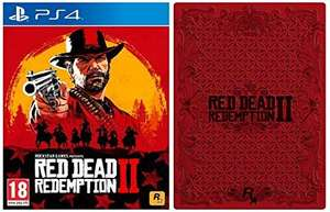 Red Dead Redemption 2 with Collectible SteelBook (PS4 / XBox One) £27.99 Delivered @ Amazon