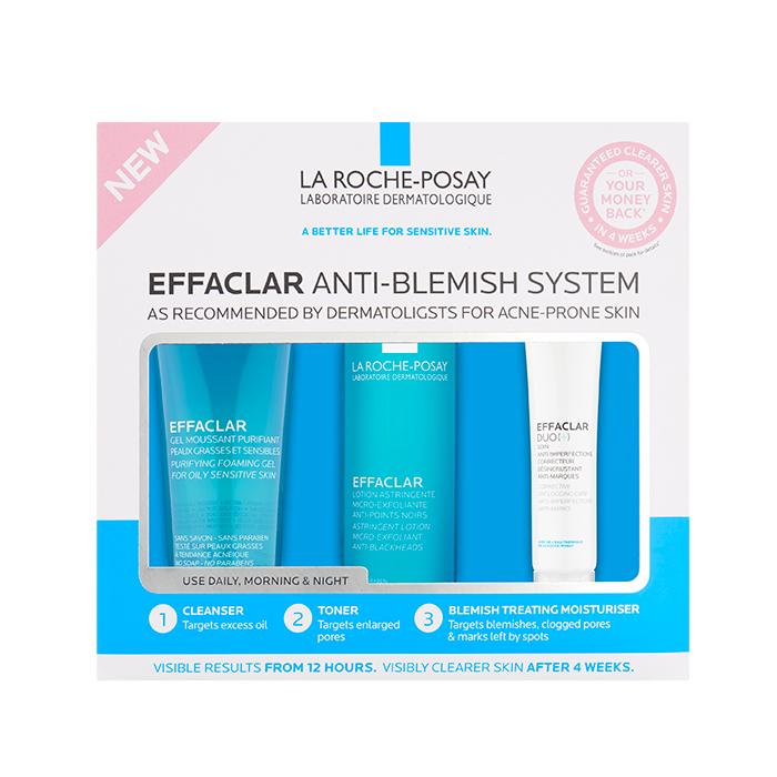 EFFACLAR EFFACLAR 3-STEP ANTI-BLEMISH SYSTEM - £18.51 @ La Roche-Posay