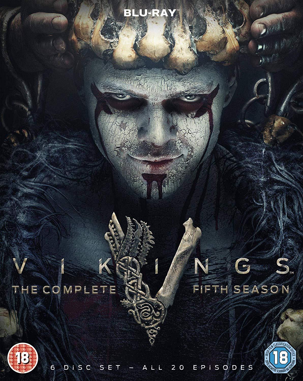 VIKINGS Blu-Ray SEASON 5: VOLUMES 1 & 2 (20 episodes) £23.99 @ Amazon