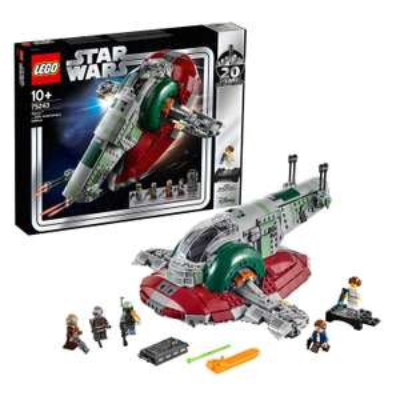 LEGO 75243 Star Wars Slave I - 20th Anniversary Edition, Boba Fett's Starship,Episode 5 The Empire Strikes Back, Multi-Colour £66.40 Amazon