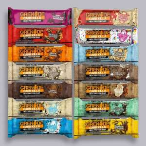 Grenade® Carb Killa™ Bars £10 per box at MuscleFood